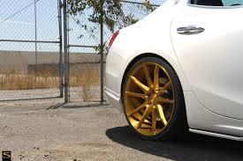 rose gold maserati ghibli savini wheels