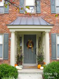 driven by décor decorating my front porch for fall i love the