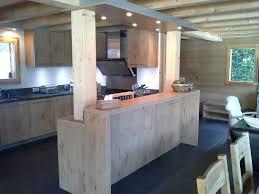 cuisine chalet moderne cuisine chalet bois images design 2017 avec cuisine chalet moderne