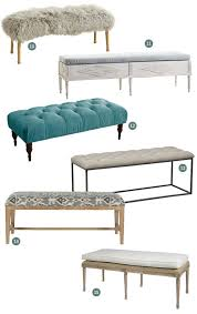 Bench Products Price List Best 25 End Of Bed Bench Ideas On Pinterest Bed Bench Narrow