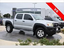 Cars In Denton Texas by Used Toyota Tacoma For Sale In Denton Tx Edmunds