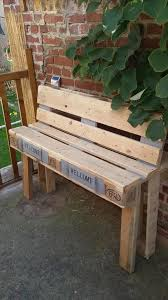 Diy Wooden Garden Bench by 8 Diy Outdoor Pallet Sitting Furniture Ideas Pallets Pallet