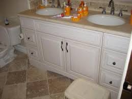 How To Reface Bathroom Cabinets by Cabinet Refacing Bathroom Remodel Countertops Pictures And Photos