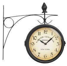 scandinavian wall clock station clock u2013 scandinavian homes