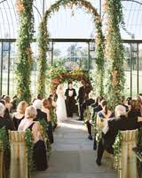 wedding arch greenery 59 wedding arches that will instantly upgrade your ceremony
