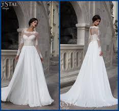 flowing wedding dresses discount 2017 wedding dresses flowing graceful beautiful delicate