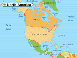 map of mexico and america america map mexico