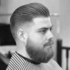 photo of the back of hair with a short bob slicked back hair for men 75 classic legacy cuts