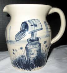 vintage marshall texas usa yesteryears hand turned pottery cream kitchens