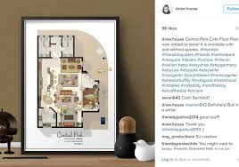 Tv Show Apartment Floor Plans Here U0027s What The Floorplan From Your Favourite Tv Show Actually