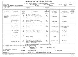 Counseling Form 4856 Fillable Da Form Dd Form 2977 Deliberate Risk Assessment Worksheet