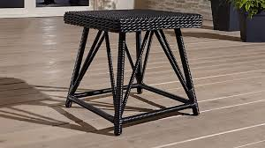 Crate And Barrel Table Calistoga Side Table Crate And Barrel