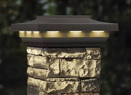 decks com deckorators woodland gray solar post cover cap for faux