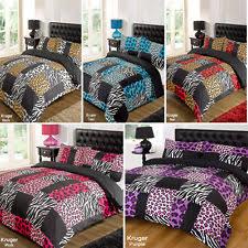 zebra duvet cover ebay