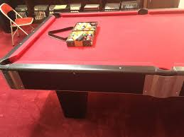 How Much To Refelt A Pool Table by Steepleton Billiards Pool Table 8 U0027 Used Pool Tables For Sale