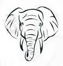 25 trending elephant face drawing ideas on pinterest indian