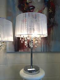Shabby Chic White Chandelier Large Crystal Table Lamps With Chandelier Uk Roselawnlutheran And