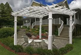 Lowes Arbor Kits by Pergola Steel Pergola With Canopy Home Depot Pergola Home Depot