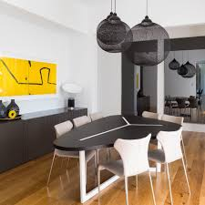 modern ceiling lights for dining room adelaide eames rectangular table dining room contemporary with t