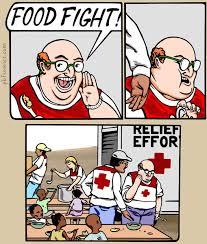 Fight Meme - food fight memes and comics