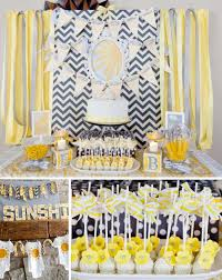 Baby Shower Decorations Yellow Kara U0027s Party Ideas You Are My Sunshine Summer Gender Neutral Baby