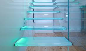 hanging glass stairs design modern homes review home loversiq