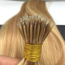 Hair Extensions Using Beads by Nano Ring Remy Human Hair Extensions With Beads Color Caramel