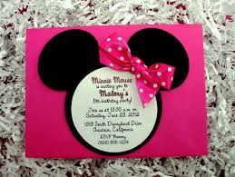 minnie mouse invitations design decorating of party