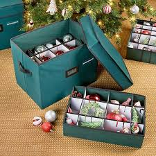 improvements adjustable ornament storage box 6612433 hsn