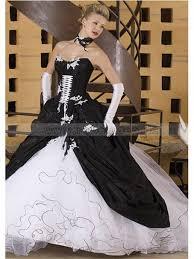 brautkleider ausgefallen brautkleider schwarz weiß duchesse