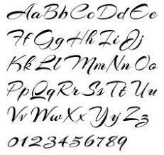 italic script jackson alves alphabet example italic