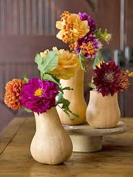 Vases For Floral Arrangements Fall Holiday Decorations Gourd And Pumpkin Floral Arrangements