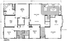 manufactured homes floor plans interesting design triple wide manufactured homes floor plans