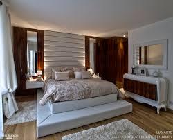 chambre villa chambre des maitres mobilier intégral lit dressing