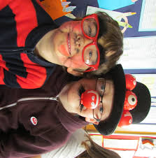 making a funny face for red nose day u2013 willow brook primary