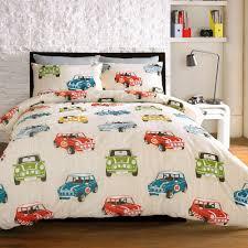 just contempo bedding mini cooper duvet cover set beige double
