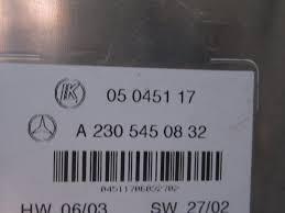 lexus gx470 fuse diagram 2003 mercedes benz sl500 r230 sam relay fuse box oem 2305450832