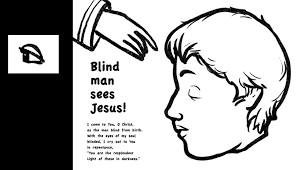 Jesus Healed The Blind Man Sunday Crafts For Blind Bartimaeus Bible Crafts And