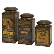 vintage metal kitchen canister sets 68 best canisters images on kitchen canisters