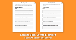 Happiness Worksheets Looking Back Looking Forward Worksheet Therapist Aid