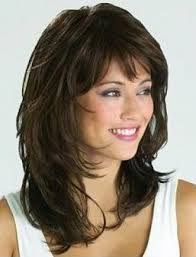wigs medium length feathered hairstyles 2015 seraphic long wavy with shaggy layers monofilament top capless