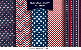 American Flag Header Independence Day Header Vector Download