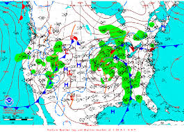 weather fronts map how to read a weather map nwc