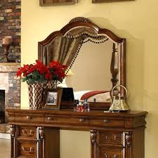 Unfinished Wood Vanity Table Wood Vanity Mirror Classic Style Solid Wood Furniture Solid Wood