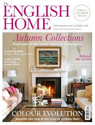 october edition of the english home on sale now the english home