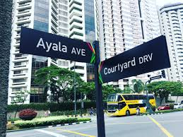 new way finding system now installed in makati streets