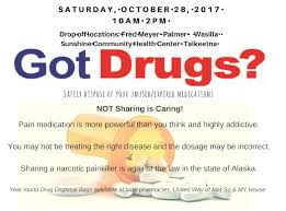 fred meyers northern lights pharmacy taking back unwanted prescription drugs on october 28th the