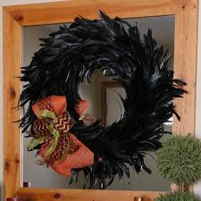 schlappen feather wreath