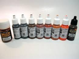 Vallejo Game Color Wash - vallejo u2013 rust and steel color set weathering system set 70 150