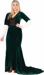 Women Halloween Costumes Size Revealing Renaissance Women Medieval Queen Costume